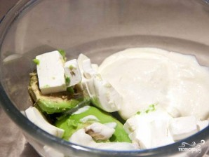 Крем из авокадо - фото шаг 3