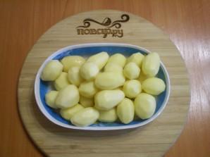 Картофель кусочками в духовке - фото шаг 2