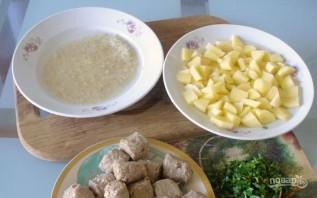 Суп с фрикадельками - фото шаг 2