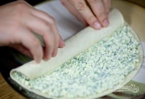 Тонкий лаваш с сыром - фото шаг 6