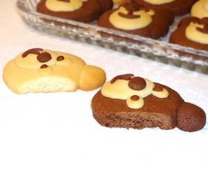 """Печенье """"Весёлые медвежата"""" - фото шаг 12"""
