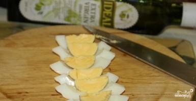 Салат картофельный с яблоками - фото шаг 2