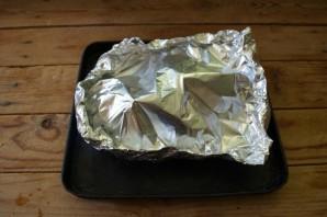 Курица фаршированная (в духовке) - фото шаг 4