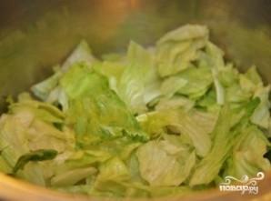Салат из свинины - фото шаг 8