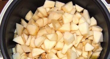 Варенье из яблок в мультиварке - фото шаг 2