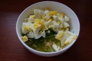 Салат с перцем и сыром - фото шаг 4