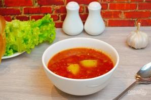 Суп из кильки в томате - фото шаг 8