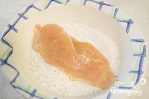 Курица с макаронами и томатно-сливочным соусом - фото шаг 1
