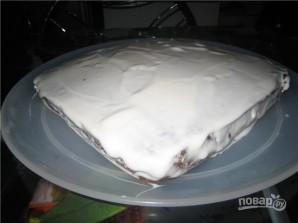 Торт черемуховый со сметаной - фото шаг 7