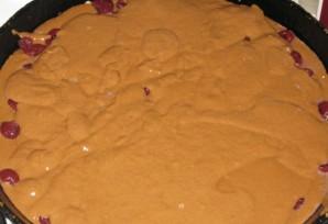 Вишневый пирог на скорую руку - фото шаг 3