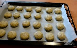 Овсяное печенье с маком - фото шаг 6
