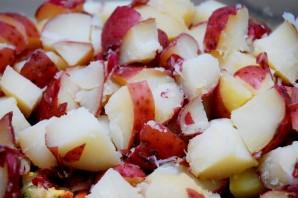 Картофельный салат с горошком - фото шаг 1