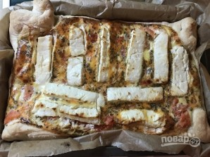 Пирог с томатами и фетой - фото шаг 8