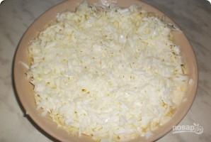 Салат из картофеля с копченой горбушей - фото шаг 3