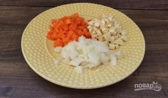 Суп-пюре из красной чечевицы - фото шаг 2