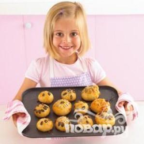 Веселые булочки - фото шаг 10