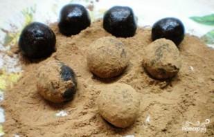 Трюфели с сухофруктами и орехами - фото шаг 5
