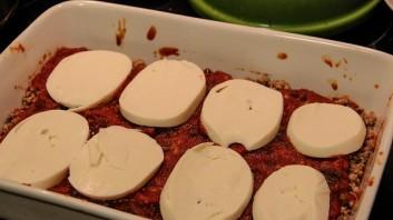 Лазанья с баклажанами и грибами - фото шаг 9