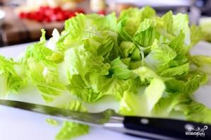 Салат с макаронами и помидорами - фото шаг 3