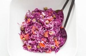 Салат из фиолетовой капусты - фото шаг 6