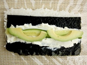 """Рецепт суши """"Филадельфия"""" дома - фото шаг 4"""