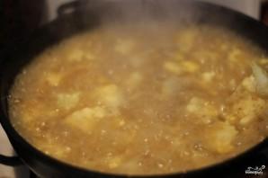 Рисовая запеканка с цветной капустой и сыром - фото шаг 2
