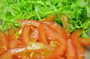 Салат с курицей и томатами - фото шаг 4