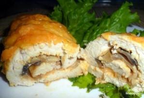 Куриные рулетики с сыром в духовке - фото шаг 5