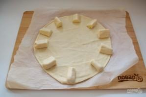 Пицца с сырными булочками - фото шаг 10
