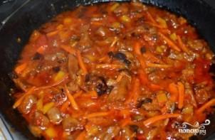 Говядина в кисло-сладком соусе по-китайски - фото шаг 14
