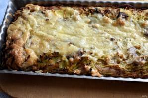 Открытый пирог с картофелем и молоками сельди - фото шаг 7