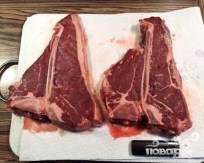 Стейк (Т-Вone steak) - фото шаг 1