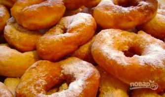 Пышные пончики на кефире - фото шаг 5