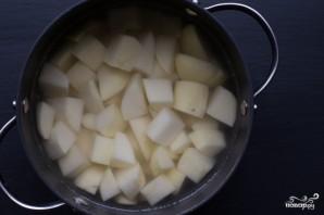 Запеченный картофель кусочками - фото шаг 1