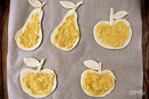 Яблоки и груши в тесте - фото шаг 4