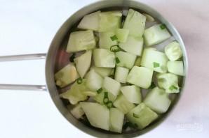 Торт с креветками и авокадо - фото шаг 1