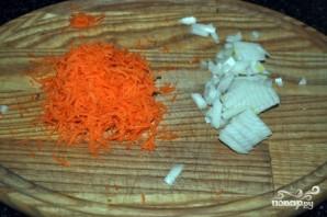 Сырный суп с шампиньонами и копченостями  - фото шаг 5