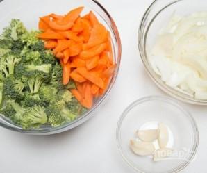 Макароны с мясом и овощами - фото шаг 7