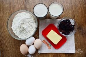 Кекс молочный с черносливом - фото шаг 1