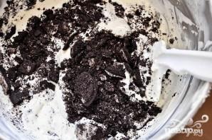 Шоколадные пирожные со сливочной начинкой - фото шаг 5