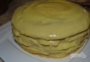 Простой и вкусный кефирный торт - фото шаг 7