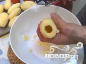 Фаршированные помидоры и картофель - фото шаг 5
