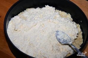 Пирог с брынзой - фото шаг 7