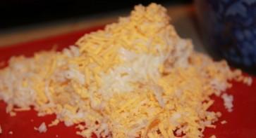 Салат с печенью трески без майонеза - фото шаг 2