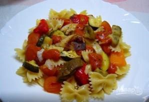 Паста-салат с запеченными овощами - фото шаг 5