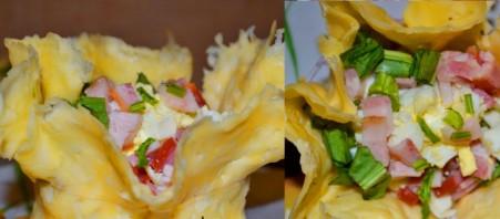 Корзинки из сыра - фото шаг 7