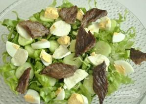 Салат с говядиной - фото шаг 7