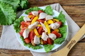 Салат с черешней и курицей - фото шаг 5