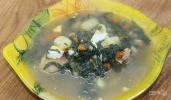 Суп со щавелем и крапивой - фото шаг 8