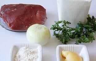 Бефстроганов из говядины со сметаной - фото шаг 1